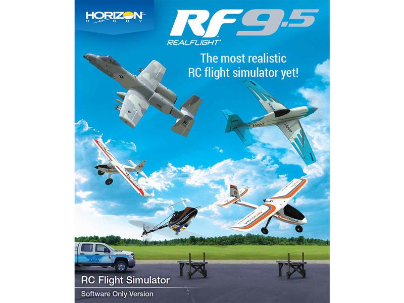 RealFlight 9.5 simulátor (len software)