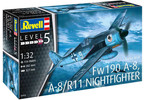 Revell Focke Wulf Fw190A-8, A-8/R11 Nightfighter (1:32)