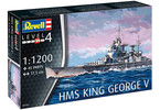 Revell HMS King George V (1:1200)