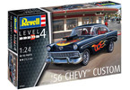 Revell Chevrolet Customs 1956 (1:24)