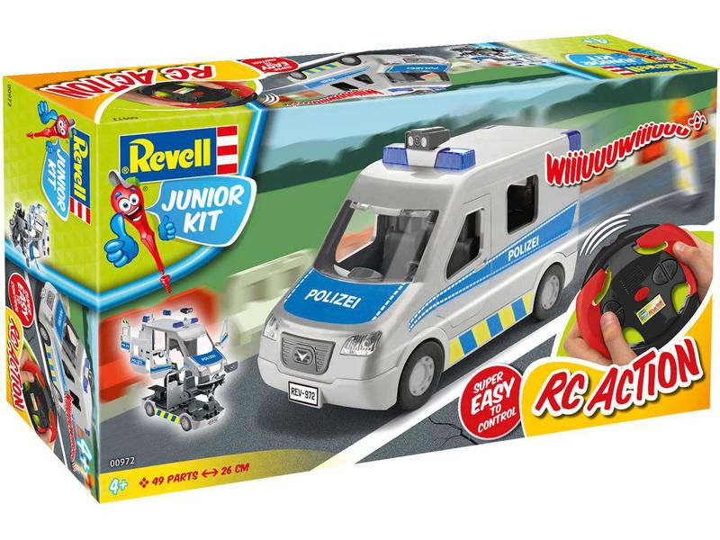 Revell Junior - Police Van (1:20)