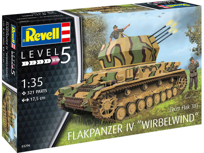 Revell Flakpanzer IV Wirbelwind (1:35)