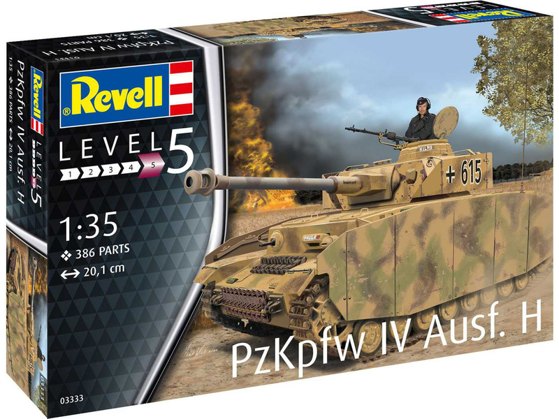 Revell PzKpfw IV Ausf. H (1:35)