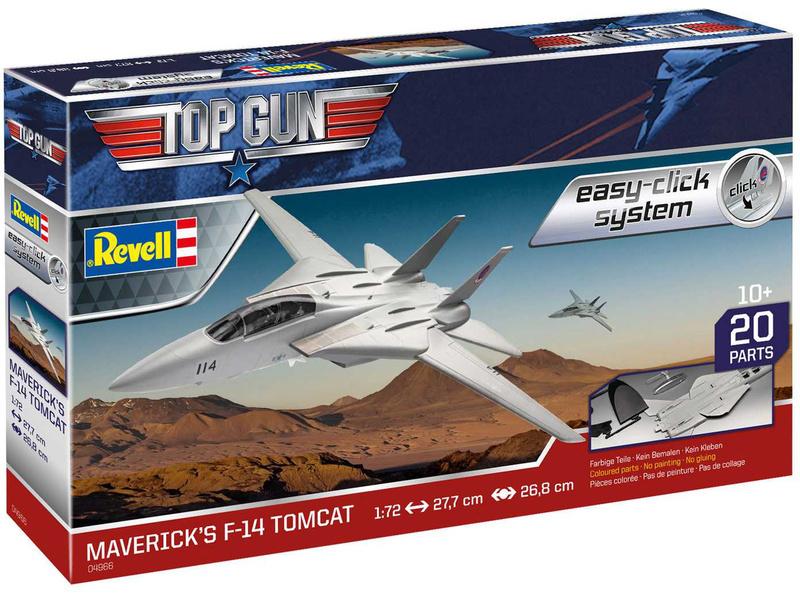Revell EasyClick F-14 Tomcat Top Gun (1:72)