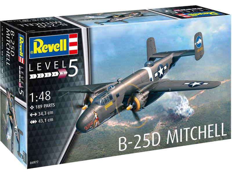 Revell North American B-25D Mitchell (1:48)