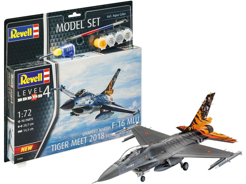 Revell Lockheed F-16 Mlu 31 Sqn. Kleine Brogel (1:72) (sada)