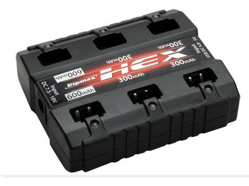 HEX 6x1článek LiPo-Ladegerät DC