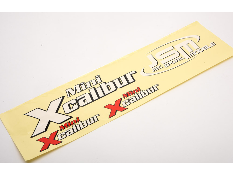 View Product - Mini Xcalibur - samolepky Sport