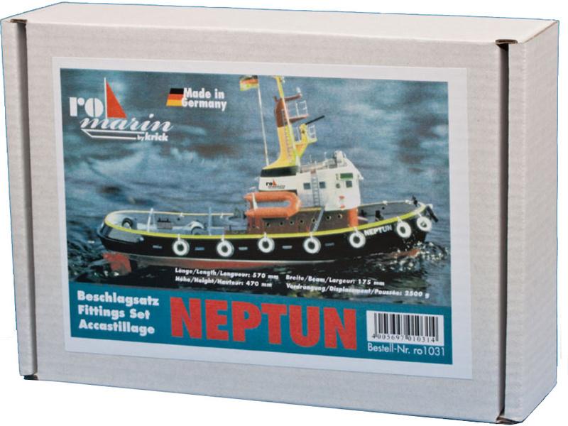 Náhled produktu - ROMARIN Přístavní remorkér Neptun - příslušenství