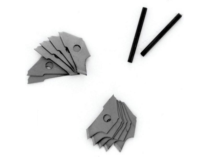 Modelcraft náhradní čepele do řezacího kružítka (10ks)