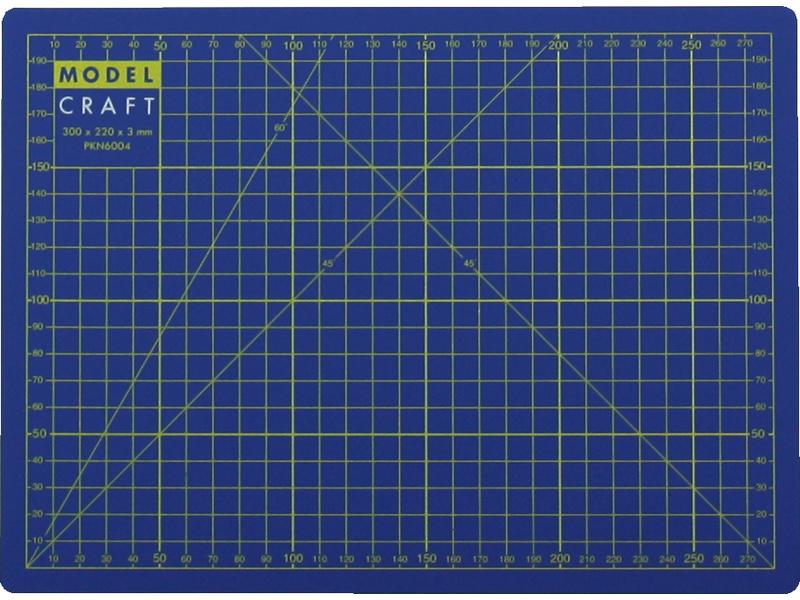 Modelcraft řezací podložka A4