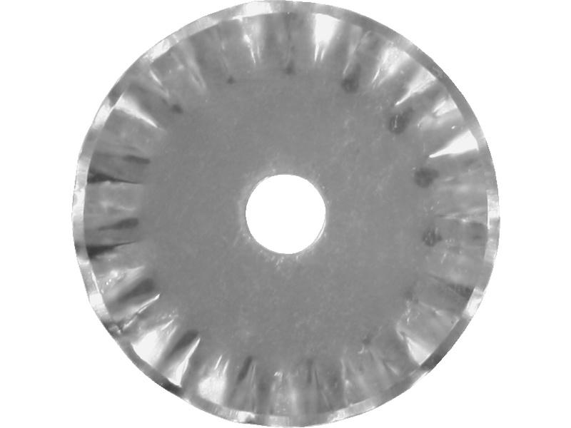 Modelcraft rotační čepel 28mm vlnitá