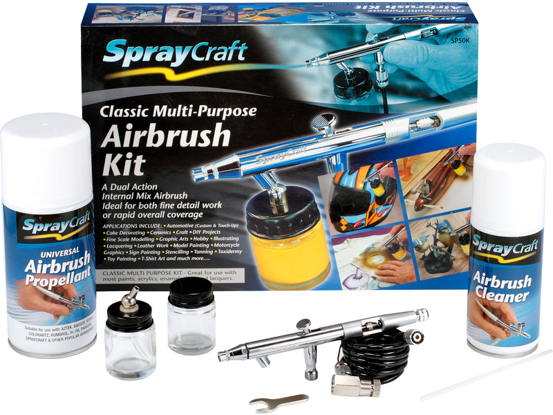 SprayCraft striekacia pištoľ SP50K (set)