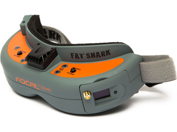 Fat Shark Focal DVR FPV Headset / SPMVR2520