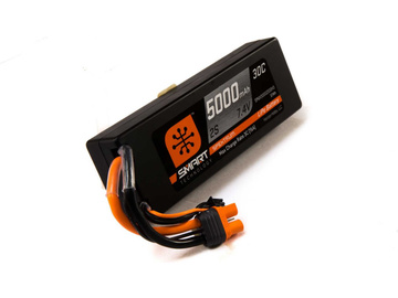 Spektrum Smart LiPo 7.4V 5000mAh 30C HC IC3 / SPMX50002S30H3