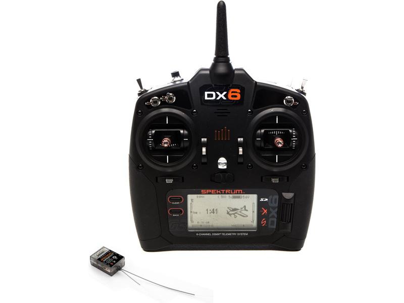 Spektrum DX6 G3 DSMX s prijímačom AR6600T