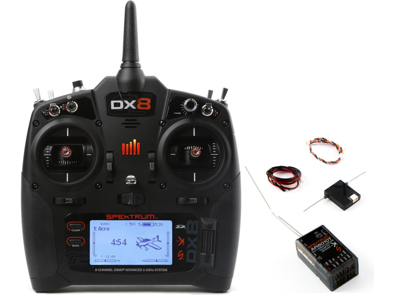 Spektrum DX8 G2 DSMX s přijímačem AR8010T