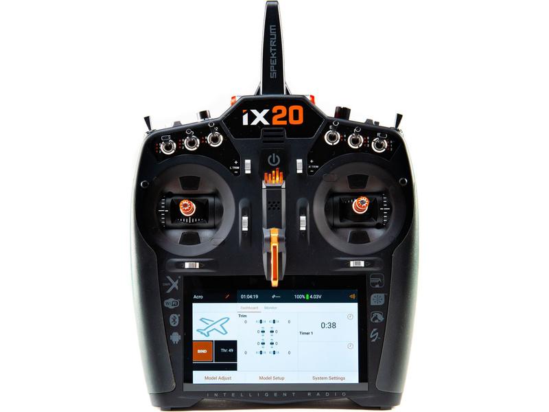 Spektrum iX20 DSMX s kufrem (pouze vysílač)