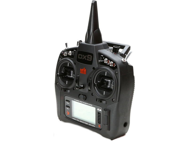 Spektrum DX9 DSMX Mód 1-4 Black Edition (len vysielač)