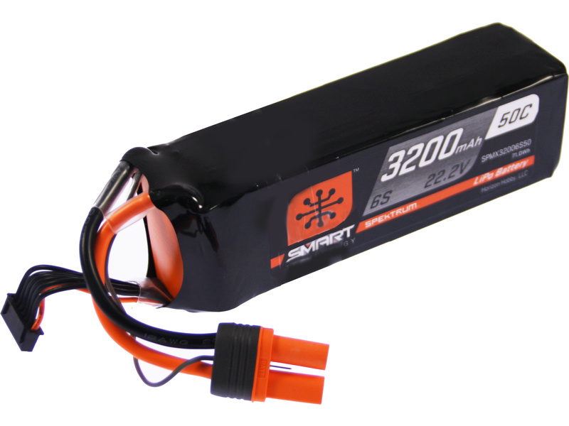 Spektrum Smart LiPo 6S 3200mAh 22,2V (50C) IC3