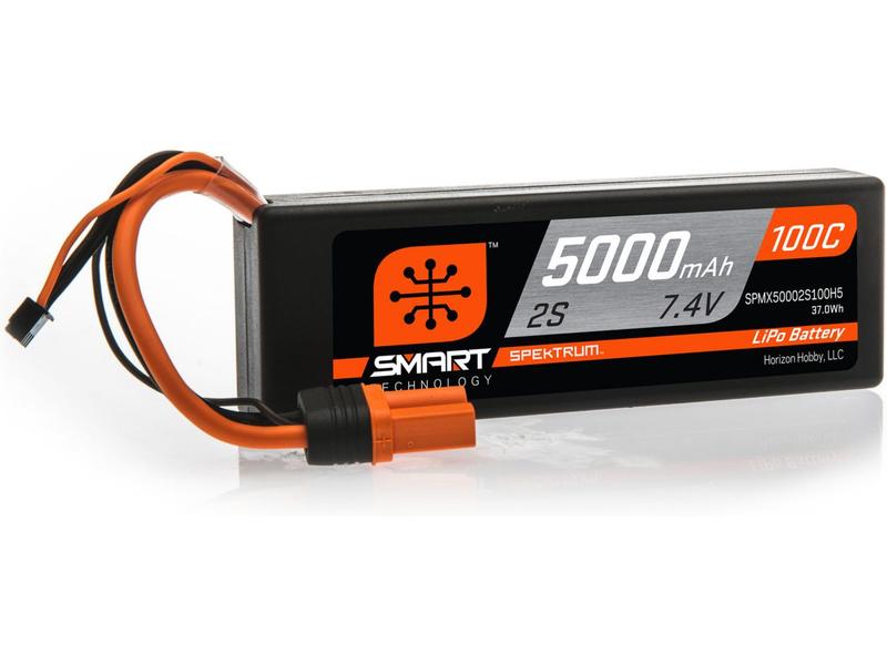 Spektrum Smart LiPo Car 2S 5000mAh 7,4V (100C) Hardcase IC5