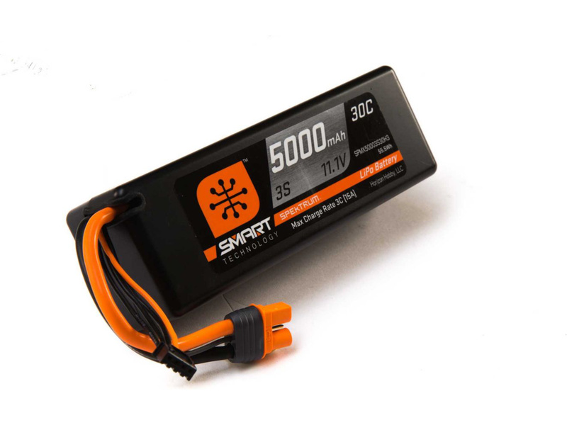 Spektrum Smart LiPo Car 3S 5000mAh 11,1V (30C) Hardcase IC3
