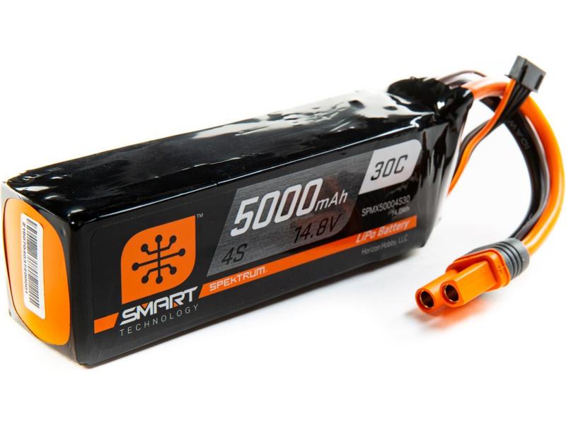 Náhľad produktu - Spektrum Smart LiPo 4S 5000mAh 14,8V (30C) IC5