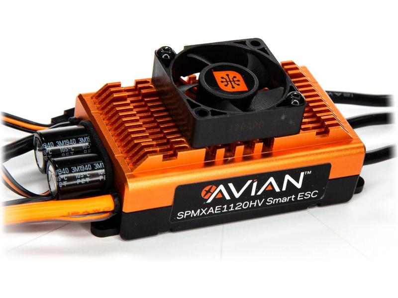 Spektrum Smart regulátor Avian 120A BL 6S-12S
