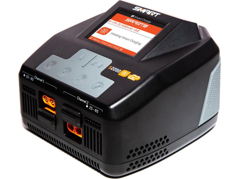 Náhled produktu - Spektrum Smart G2 nabíječ S2200 2× 200W AC
