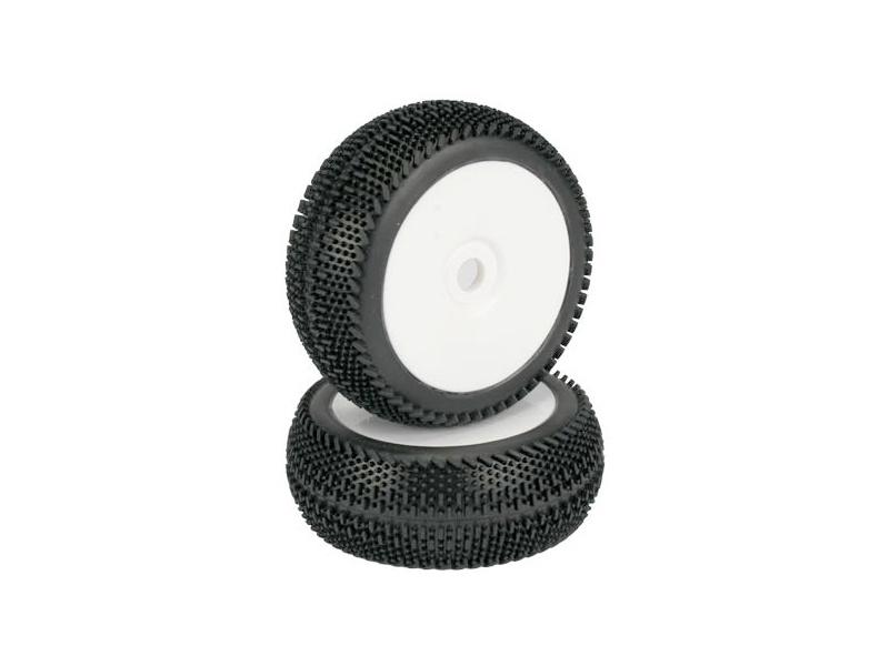 Náhľad produktu - Kola buggy 1:8 HotLaps Qualifiers - bílé disky