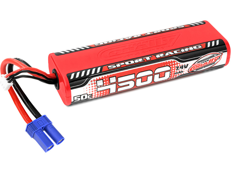 Corally LiPo Sport Racing 7,4V 4500mAh 50C EC5