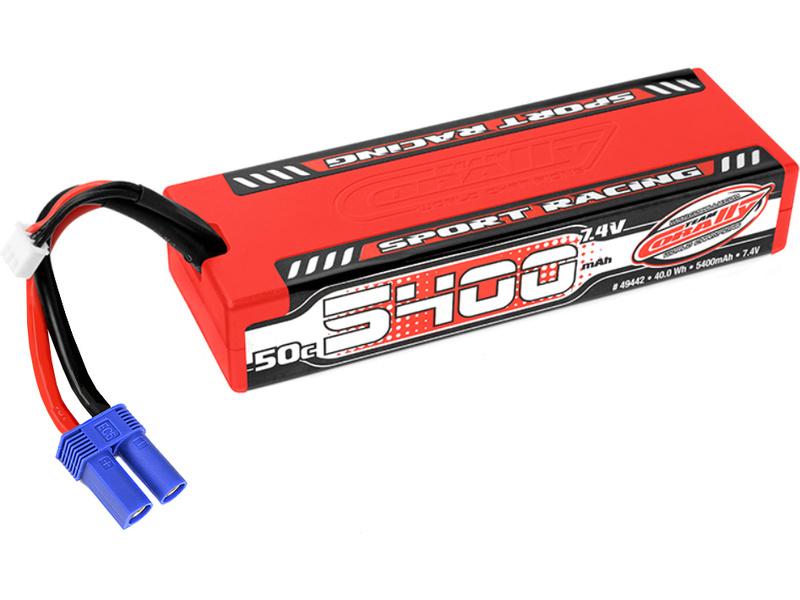 Corally LiPo Sport Racing 7,4V 5400mAh 50C EC5