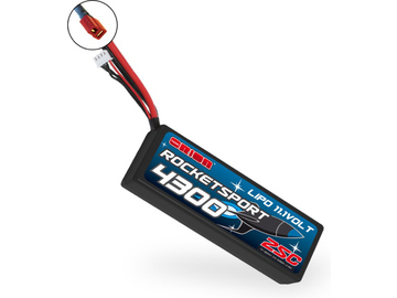 Team Orion LiPol Rocket Sport 4300mAh 11.1V Deans / ORI14189