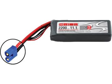 Team Orion LiPol 2200mAh 3S 11.1V 50C EC3 LED / ORI60160