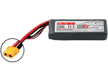 Team Orion LiPol 2200mAh 3S 11.1V 50C XT60 LED / ORI60163