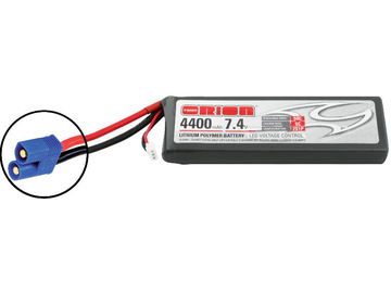 Team Orion LiPol 4400mAh 2S 7.4V 50C EC3 LED / ORI60195