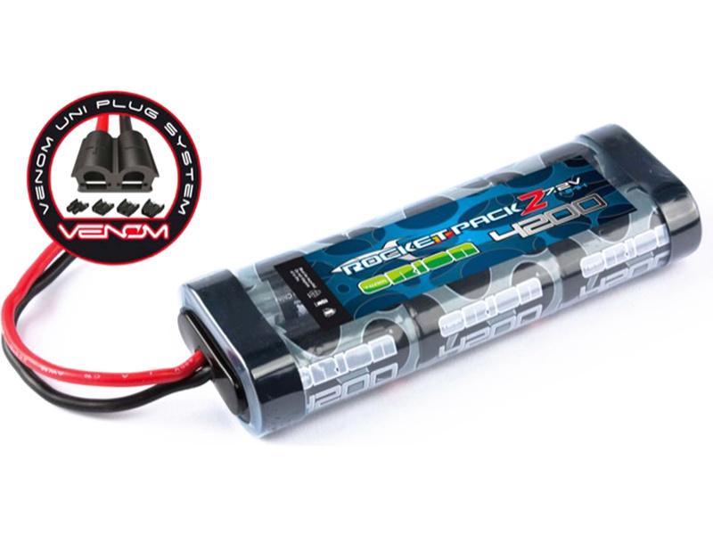 Náhľad produktu - Team Orion NiMH Rocket 2 7,2V 4200mAh, Venom