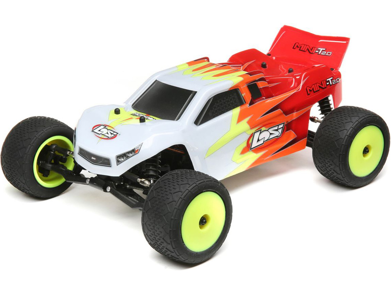 1:18 Losi Mini-T 2.0 RTR (červená/bílá)