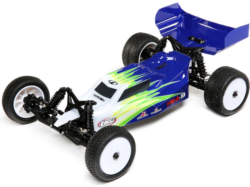 Losi Mini-B 1:16 RTR modrá