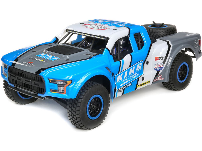 1:10 Losi Ford Raptor Baja Rey 4WD RTR (King Shocks)