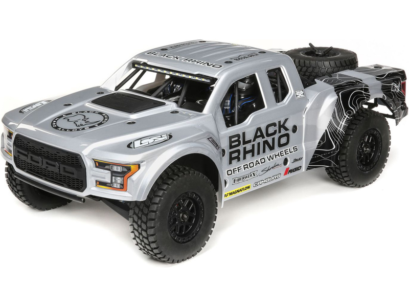 1:10 Losi Ford Raptor Baja Rey 4WD RTR (Black Rhino)