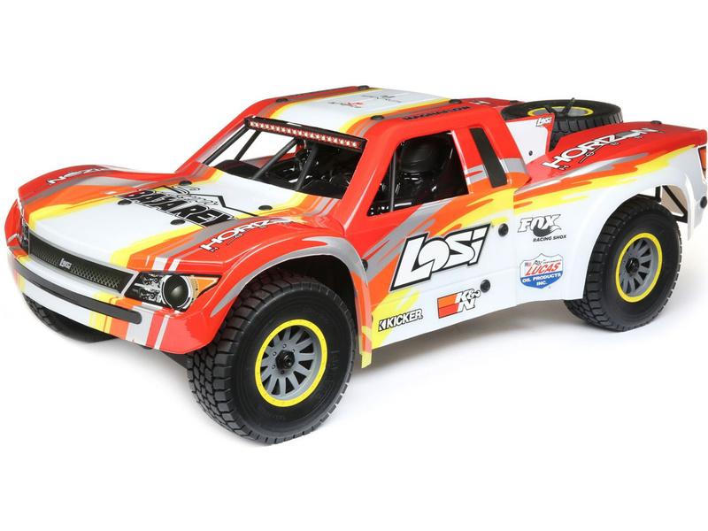 Losi Super Baja Rey 1:6 4WD RTR červená
