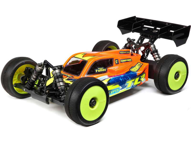 1:8 TLR 8ight-XE Elite Electric Buggy Race Kit (stavebnica)