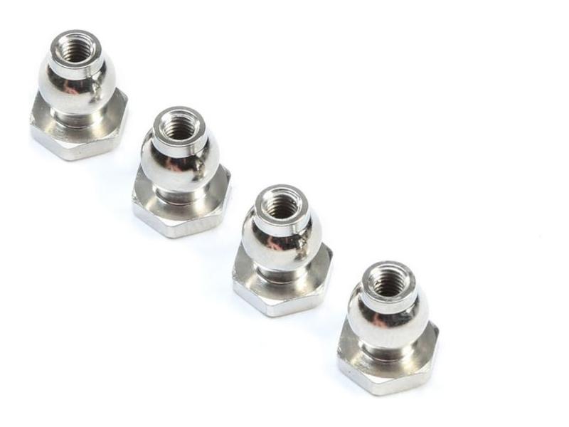 TLR kulový čep s přírubou 6.8mm (4): 8X
