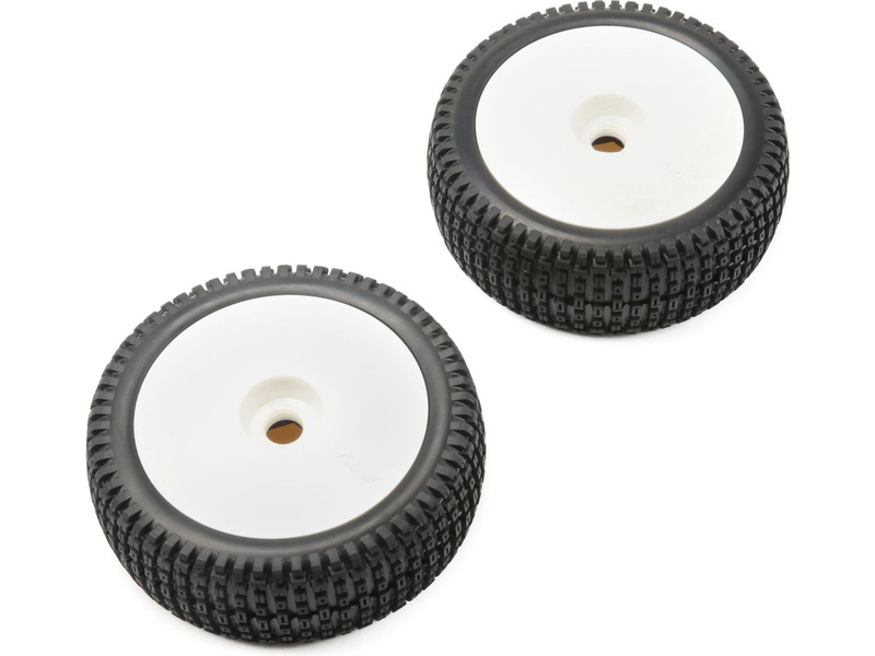 TLR disk plný bílý s pneu (2): 5IVE-B
