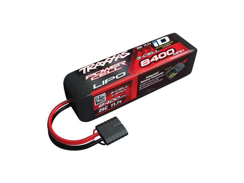 Traxxas LiPo baterie 11.1V 8400mAh 25C iD