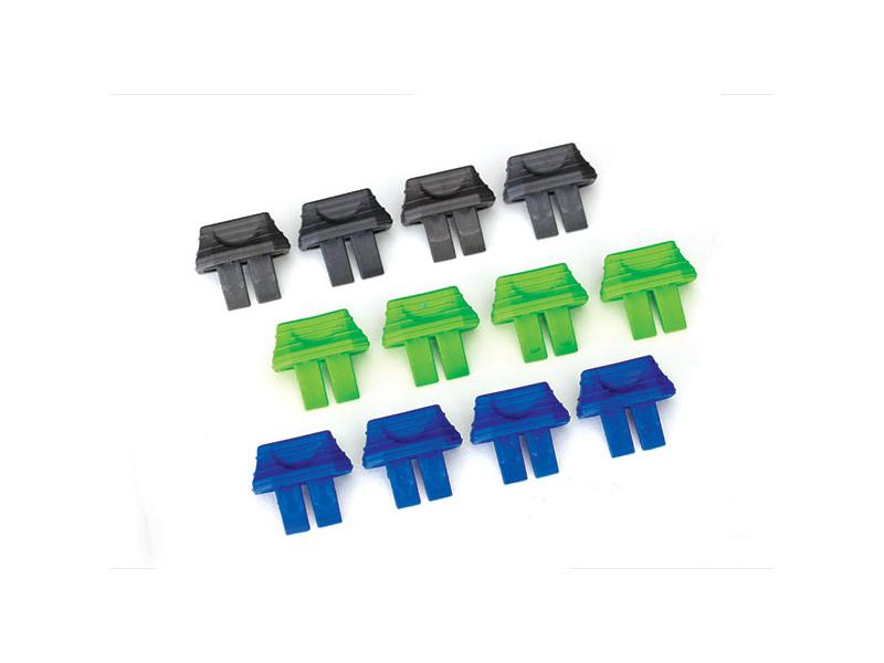 Traxxas barevné záslepky Traxxas konektoru (12)