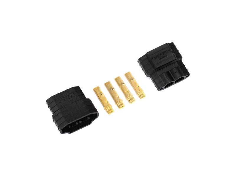 Traxxas konektor zlatený iD samec (2 ks)