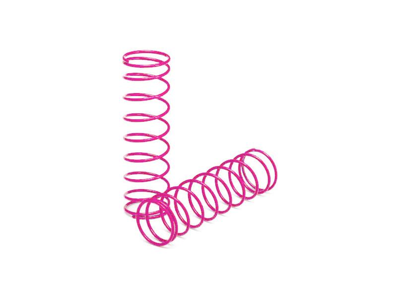 Traxxas pružina předních tlumičů růžová (2), TRA3758P