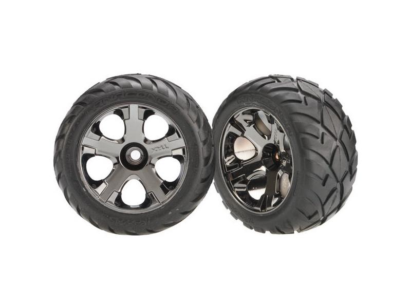 Náhľad produktu - Traxxas kolo 2.8″, disk All-Star černý chrom, pneu anaconda (2)